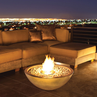 Mix 850 Fire Pit Bowl in Natural