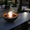 Mix 600 Fire Pit Bowl in Natural, Stainless Steel Burner