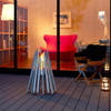 Stix Portable Fire Pit, Stainless Steel