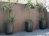 Samurai Planter Grouping - Material : Fiber Cement - Finish : Anthracite
