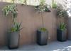 Samurai Planter Grouping - Material : Fiber Cement - Finish : Anthracite