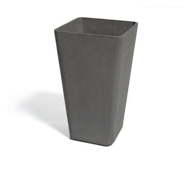 Quadra Container - Material : Fiber Cement - Finish : Anthracite