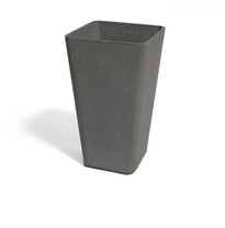Quadra Container - Material : Fiber Cement - Finish : Anthracite