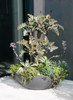Lausanne Container Outdoor Planting - Material : Fiber Cement - Finish Anthracite