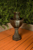 Augusta Fountain - Material GFRC - Finish Celano
