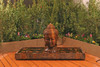 Buddha Head Fountain - Large - Material - GFRC - Finish : Rodda Bronze