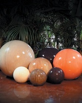 Garden Spheres - Material GFRC - Assorted Sizes and finishes