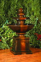 Cresere Fountain - Material : GFRC - Finish : Absolute