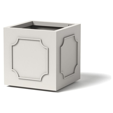 Cove Pomo Planter - Material : Aluminum - Finish : Linen