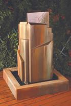 Flourish Fountain - Material : GFRC : Finish : Heacy Sierra