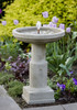 Powys Fountain - Material : Cast Stone - Finish : Greystone