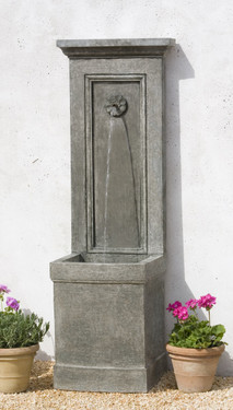 Auberge Fountain - Material : Cast Stone - Finish : Alpine Stone