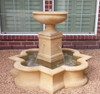 Beauvais Fountain - Material : Cast Stone - Finish : Travertine