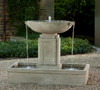 Austin Fountain - Material : Cast Stone - Finish : Alpine Stone