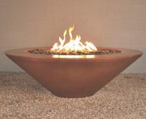 """Geo Round """"Essex"""" Fire Pit - Material : GFRC"""