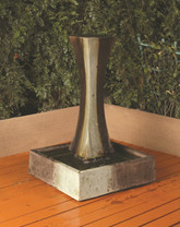 I Fountain Mini - Material : GFRC - Finish : Popoli