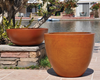 Low Bowl Planter - Material GFRC