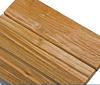 Recycled teak slats
