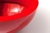 Wok Planter Detail - Material : Aluminum - Finish : Red