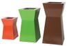 Pawn Planter - Material : Aluminum - Finish : Custom Red, Custom Lime, PC Rust