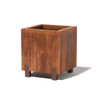 Stilts Planter - Material : Mild Steel - Finish : Natural Rust