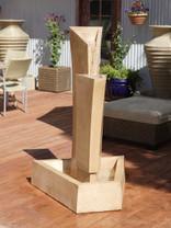 Tower Fountain - Material : GFRC - Finish : Desert Rose