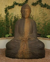Large Sitting Budda - Material : GFRC - Finish : Absolute