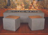 Aurora Fire Table with Stools - Material : GFRC