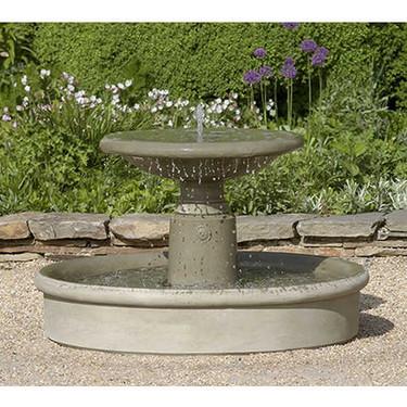 Esplanade Fountain(FT-79) - Material : Cast Stone - Finish : Verde