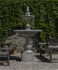 Charleston Fountain - Material : Cast Stone - Finish : Alpine Stone