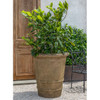 Extra Large Urbino Planter - Material : Cast Stone in Aged Limestone Finish
