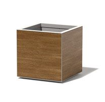 Surface Planter - 4 sided panel - Material : Aluminum, Trespa