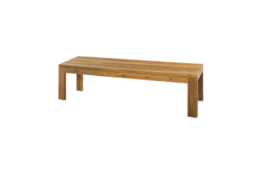 "EDEN Bench 65"" (recycled teak)"