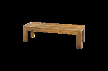 "EDEN Bench 65"" (recycled teak)"