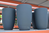 High Stout Planter - Material : GFRC - Finish : Charcoal Gray
