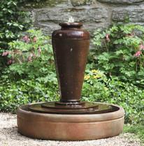 Bisbalos Fountain - Material : Cast Stone - Finish : Ferro Rustico