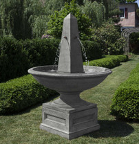 Condotti Obelisk Fountain
