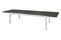 "BAIA Extension Table 90.5""(Extended) - Stainless Steel, High Pressure Laminate (slate)"