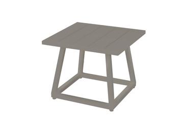 ALLUX Medium Side Table - Powder-Coated Aluminum (Taupe)