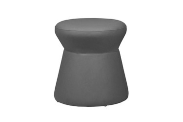 ALLUX stool small - Stamskin (grey taupe)
