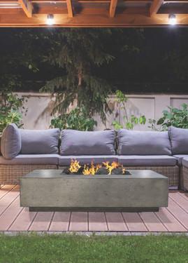 Tavola IV Fire Table (pewter)