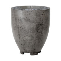 Pentola I Fire Pit (glass-fiber reinforced cement in pewter)