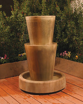 Bi-Level Jug Fountain (sierra finish)