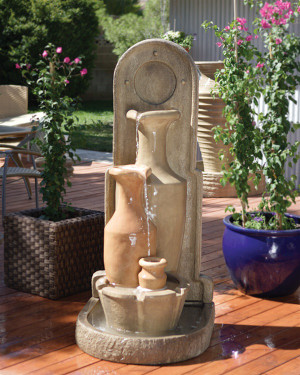 Carafe Fountain (GFRC in standard finish)