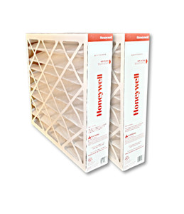 Honeywell FC100A1037 20x25 MERV11 pleated media air filter for use with heat pump, furnace or air conditioner.