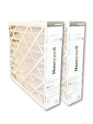 honeywell fc200e1037 20x25 merv 13 media air filter - 2 pack ...