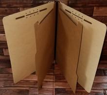 Maple Classification Folders - 6-part (100 per box)
