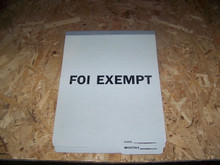 FOI Privacy Exempt Folders (100 per box)