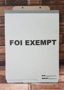 FOI Privacy Exempt Folders (100 per box)