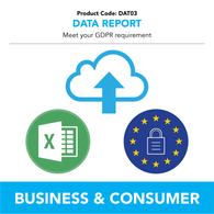 DAT03 - Data Report - Meet Your GDPR Requirement